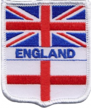 United Kingdom UK & England Friendship Flag Embroidered Patch A234